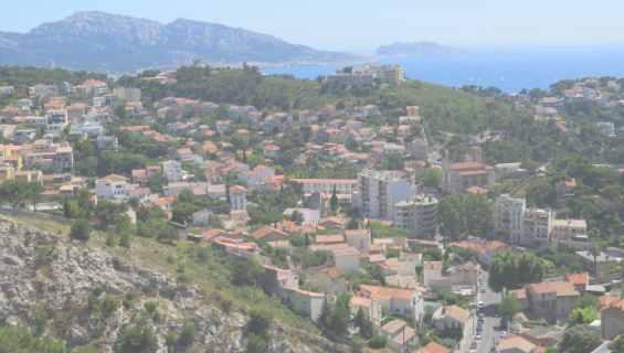 Панорама города Марсель