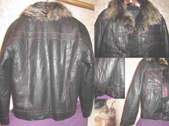 Кожаные мужские куртки производства  Турции