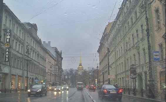 Невский проспект. Санкт-Петербург. Осень