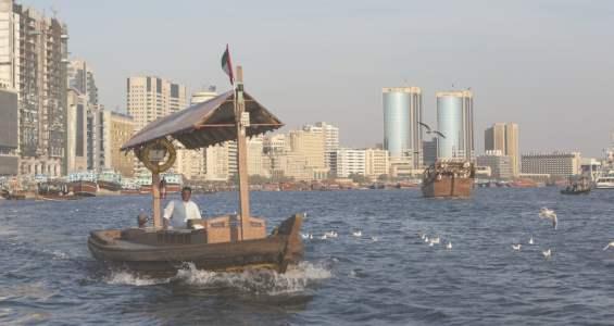 Абра -- традионная лодка ОАЭ. Недорогое водное такси