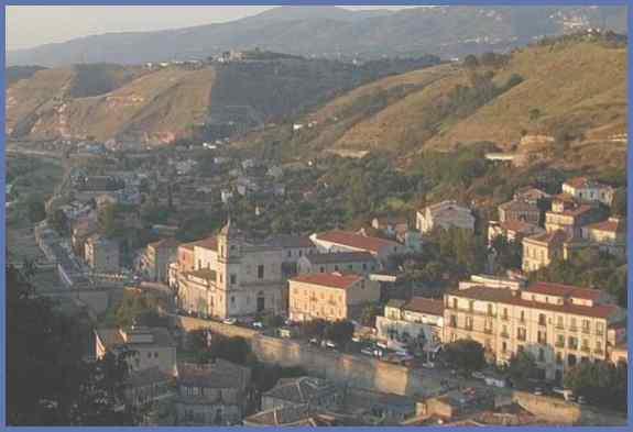 Регион Южной Италии -- Калабрия